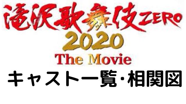 滝沢歌舞伎zeroの出演者ジュニアメンバー一覧・相関図を紹介